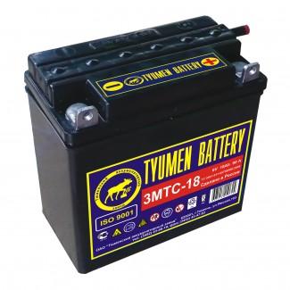 Аккумулятор 3МТ-18 3МТ-18  Тюменский АЗ  Прямая полярность