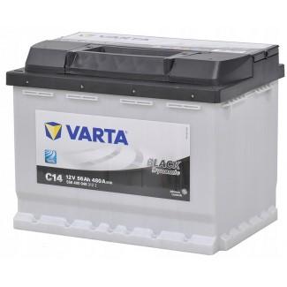Аккумулятор 6CT-56  VARTA C14  Black Dynamic С14  Обратная полярность