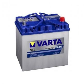 Аккумулятор 6CT-60  VARTA D47  Blue Dynamic D47  Обратная полярность