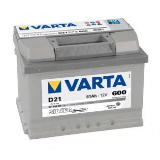 Аккумулятор 6CT-61  VARTA D21  Silver Dynamic D21  Обратная полярность