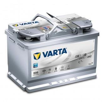 Аккумулятор 6CT-70  VARTA  Varta AGM E39  Обратная полярность