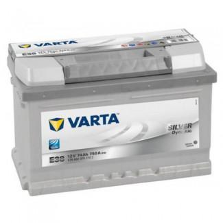 Аккумулятор 6CT-74  VARTA E38  Silver Dynamic Е38  Обратная полярность