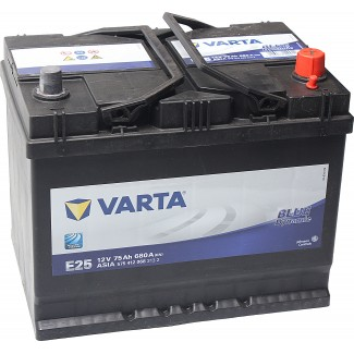 Аккумулятор 6CT-75  VARTA Е25  Blue Dynamic E25  Обратная полярность