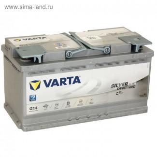 Аккумулятор 6CT-95  VARTA  Varta AGM G14  Обратная полярность