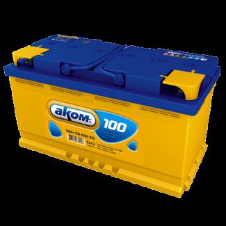 Аккумулятор 6СТ-100 АКОМ    Прямая полярность