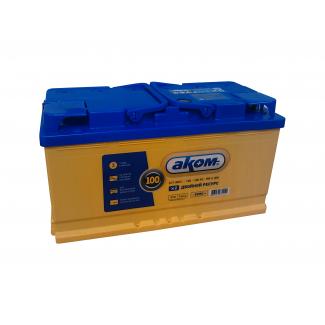 Аккумулятор 6СТ-100 АКОМ  EFB  Обратная полярность