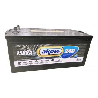Аккумулятор 6СТ-240 АКОМ  EFB  Обратная полярность
