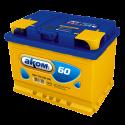 Аккумулятор 6СТ-60 АКОМ    Прямая полярность