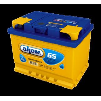 Аккумулятор 6СТ-65 АКОМ    Прямая полярность