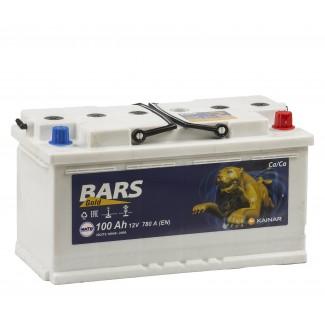 Аккумулятор 6СТ-100 КАЙНАР  Bars GOLD  Обратная полярность