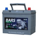 Аккумулятор 6СТ-75 КАЙНАР  Bars Asia  Обратная полярность