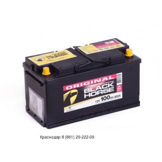 Аккумулятор 6СТ-100 Black Horse  Original  Прямая полярность