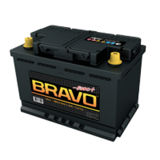Аккумулятор 6СТ-74 Bravo    Обратная полярность