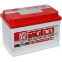 Аккумулятор 6CT-75   MUTLU  Calcium Silver  Обратная полярность