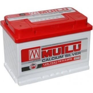 Аккумулятор 6CT-75   MUTLU  Calcium Silver  Прямая полярность