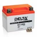 Аккумулятор CT1204 DELTA  YB4L-B,YB4L-A,YTX4L-BS  Обратная полярность