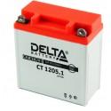 Аккумулятор CT1205.1 DELTA  12N5-3B, YB5L-B  Обратная полярность