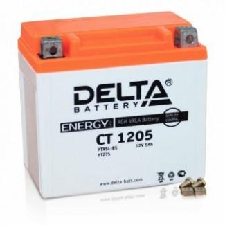 Аккумулятор CT1205 DELTA  YTX5L-BS, YTZ7S, YT5L-BS  Обратная полярность