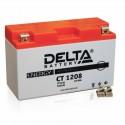 Аккумулятор CT1208 DELTA  YT7B-BS, YT7B-4, YT9B-BS  Прямая полярность