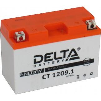 Аккумулятор CT1209.1 DELTA  YT9B-BS  Обратная полярность