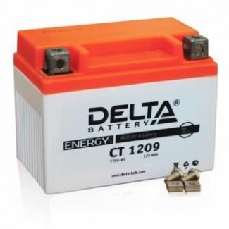 Аккумулятор CT1209 DELTA  YTX9-BS, YTX9  Обратная полярность