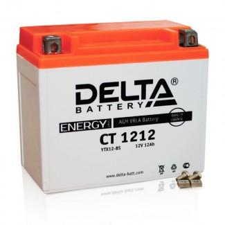 Аккумулятор CT1212.1 DELTA  YTX12B-BS  Прямая полярность