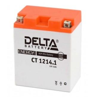 Аккумулятор CT1214.1 DELTA  YB14-BS, YTX14AH, YTX14AH-BS  Прямая полярность