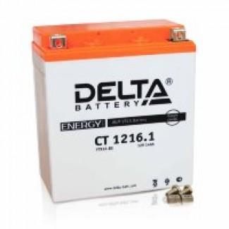 Аккумулятор CT1216.1 DELTA  YTX16-BS, YB16B-A  Прямая полярность