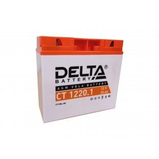Аккумулятор СТ1220.1 DELTA  YT19BL-BS  Обратная полярность