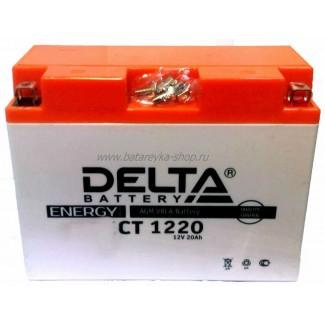 Аккумулятор CT1220 DELTA  Y50-N18L-A3,YTX24HL-BS, YTX24HL  Обратная полярность