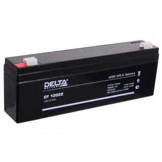 Аккумулятор DT 12022 Delta    Прямая полярность
