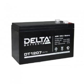 Аккумулятор DT 1207 Delta    Прямая полярность
