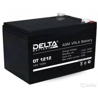 Аккумулятор DT 1212 Delta    Прямая полярность