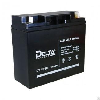 Аккумулятор DT 1218 Delta    Прямая полярность