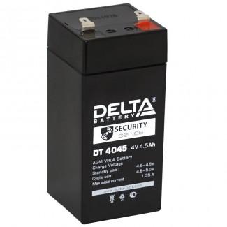 Аккумулятор DT 4045 (47*47*105) Delta    Обратная полярность