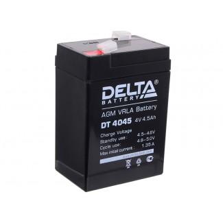 Аккумулятор DT 4045 Delta    Прямая полярность