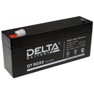 Аккумулятор DT 6033 Delta    Прямая полярность