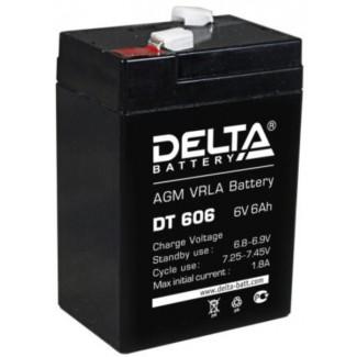 Аккумулятор DT 606 Delta    Прямая полярность