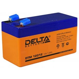 Аккумулятор DTM 12012 Delta    Прямая полярность