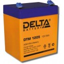 Аккумулятор DTM 1205 Delta    Прямая полярность
