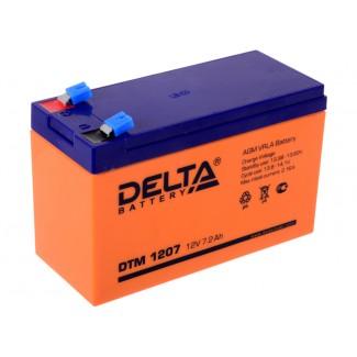 Аккумулятор DTM 1207 Delta    Прямая полярность