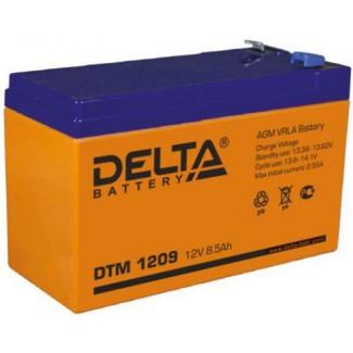 Аккумулятор DTM 1209 Delta    Прямая полярность