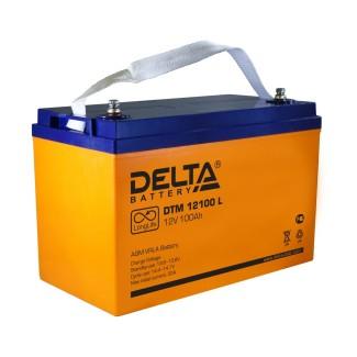 Аккумулятор DTM 12100 Delta    Прямая полярность