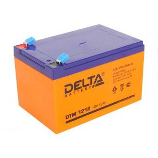 Аккумулятор DTM 1212 Delta    Прямая полярность
