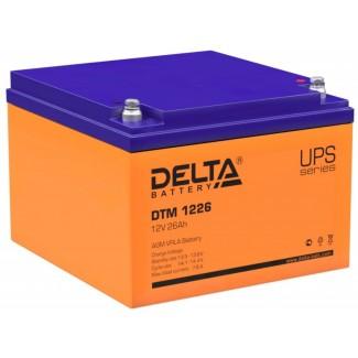 Аккумулятор DTM 1226 Delta    Обратная полярность