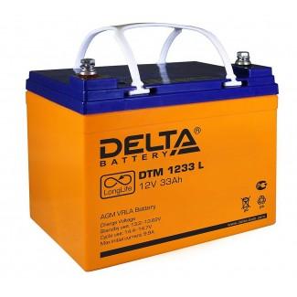 Аккумулятор DTM 1233 Delta    Прямая полярность