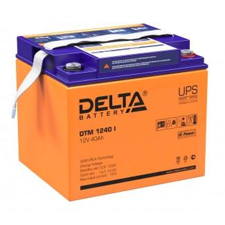 Аккумулятор DTM 1240 Delta    Обратная полярность