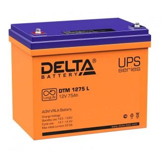 Аккумулятор DTM 1275 Delta    Прямая полярность