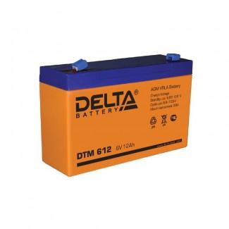 Аккумулятор DTM 612 Delta    Прямая полярность