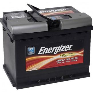 Аккумулятор 6СТ-63 ENERGIZER    Обратная полярность